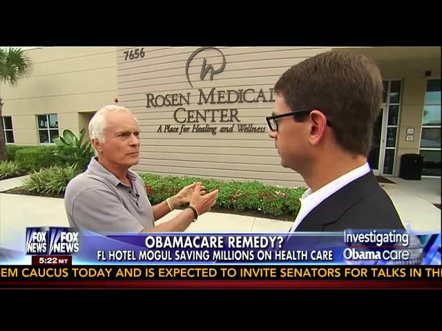 Fox News Profiles Harris Rosen's Health Care Plan