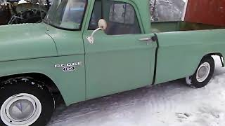 1965 Dodge D100 walkaround