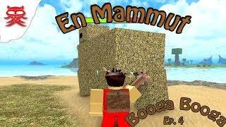 En Mammut - Booga Booga - Dansk Roblox