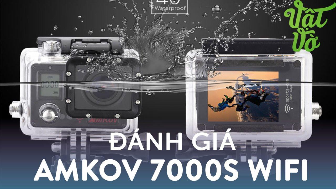 Vật Vờ| Đánh giá camera hành trình Amkov: quay dưới nước đẹp, dùng chung phụ kiện với Go Pro