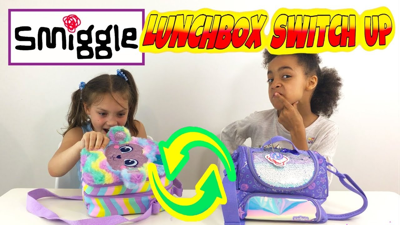 Smiggle Lunchbox Switch Up Challenge Toys And Candy