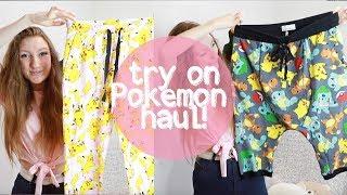 I SPENT $400 ON POKEMON PYJAMAS???