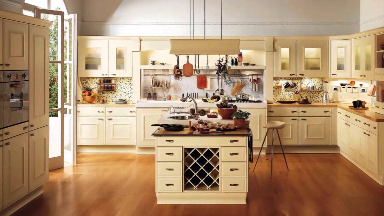 Spain cocinas cl sicas youtube - Decoracion clasica de interiores ...