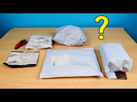 Эти посылки пролежали три года в шкафу! Что внутри? Пять забытых посылок! Alex Boyko