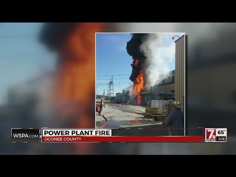 Duke Energy speaks about fire at Oconee Nuclear Station