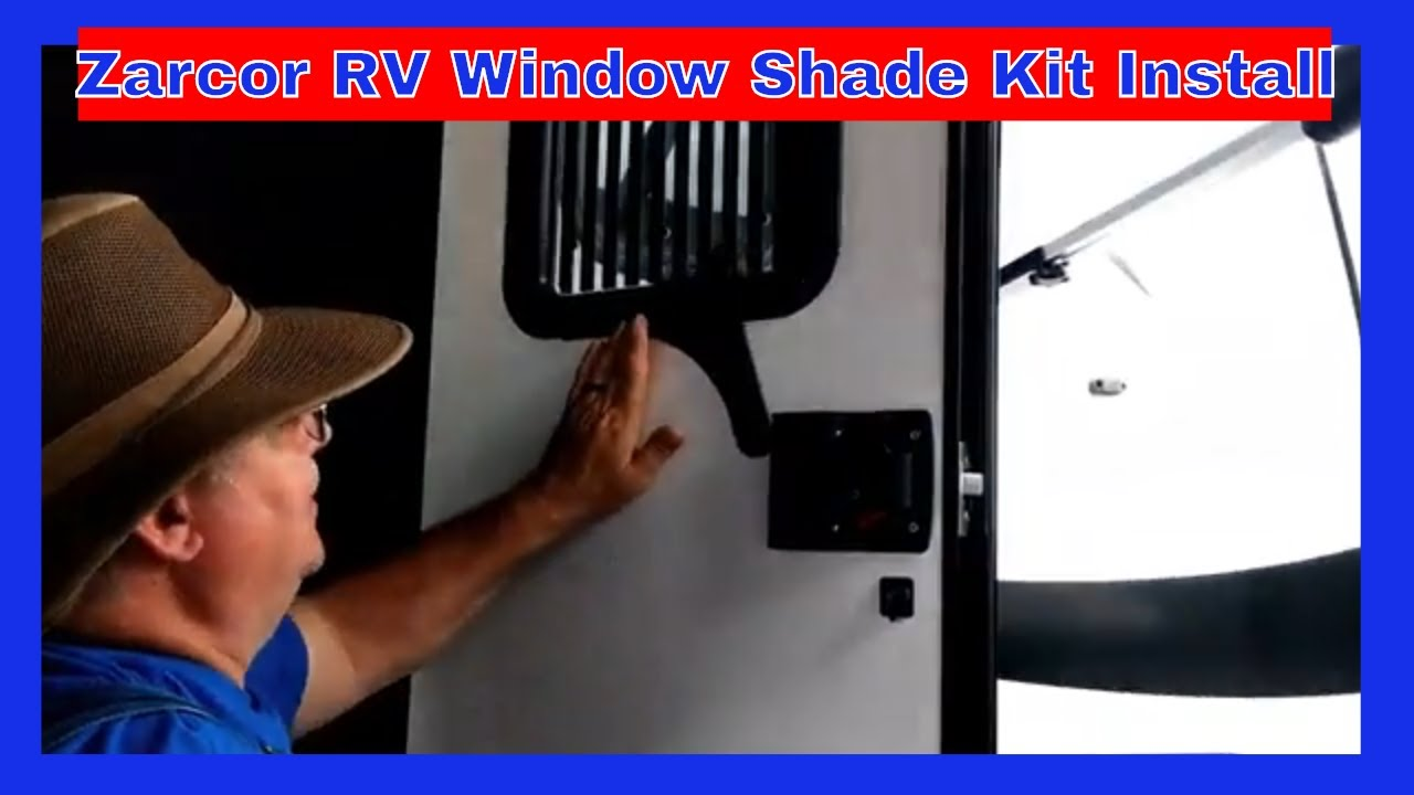 replacement rv door window with shade