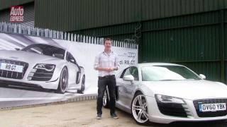Audi R8 GT 2011 Videos