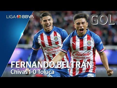 Chivas [1] - 0 Toluca (F. Beltrán 19')