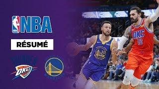 Résumé NBA : Le Thunder humilie les Warriors !