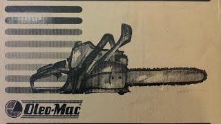 Обзор бензопилы Oleo-Mac 937(Олео Мак)