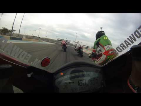 Bahrain BSBK Round 5 Event overview video Mike 'Spike' Edwards