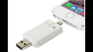 Флешка для Iphone I FlashDevice: обзор, инструкция по применению
