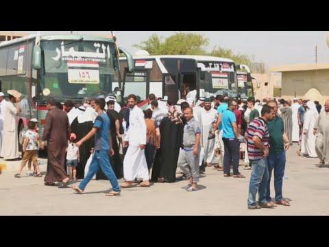حصري - أولى قوافل الحج تنطلق براً من سامراء بعد تأمين الطرق من داعش  - نشر قبل 1 ساعة
