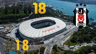 🦅 FIFA 18 / BJK Kariyeri #18 | Yok Böyle Maç! | Türkçe