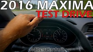 2016 Nissan Maxima Virtual Test Drive