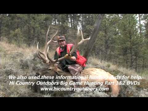 Trophy 350 Class Self-guided Elk Hunt In Eastern Montana, Missouri River Breaks Country