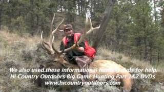 Trophy 350 class self-guided elk hunt in Eastern Montana, Missouri River Breaks Country
