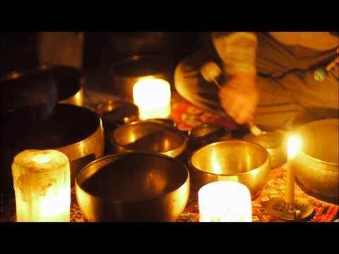 Candlelight Meditation with Himalayan Singing bowls~30 min