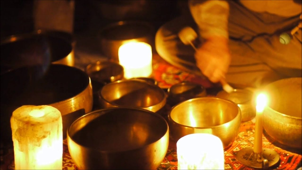 Candlelight Meditation With Himalayan Singing Bowls 30 Min