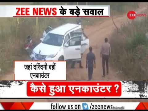 Hyderabad Rape-murder Case: Locals Hail Police & Some Shower Flowers