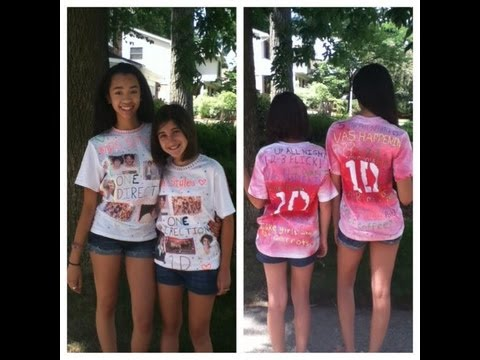 How to Make One Direction Shirts