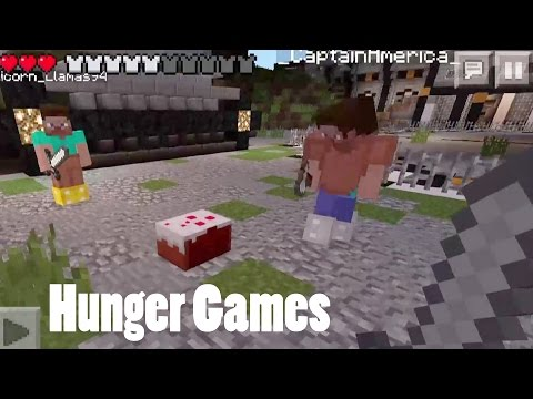 Minecraft Pocket Edition: Hunger Games Part 4: Lifeboat Server