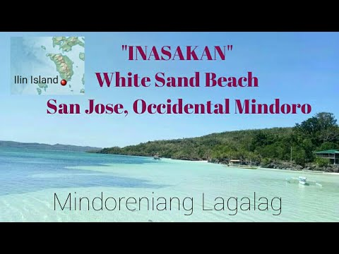 "ep#23 ""INASAKAN"" white sand beach in San Jose, Occidental Mindoro"