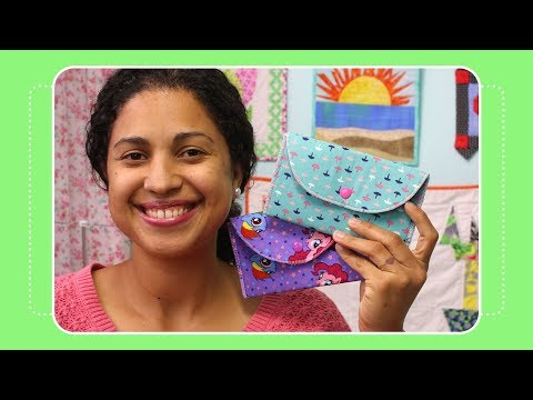 Fabric Envelope Tutorial- Day 11 of 12 Days of Last Minute DIY Gifts
