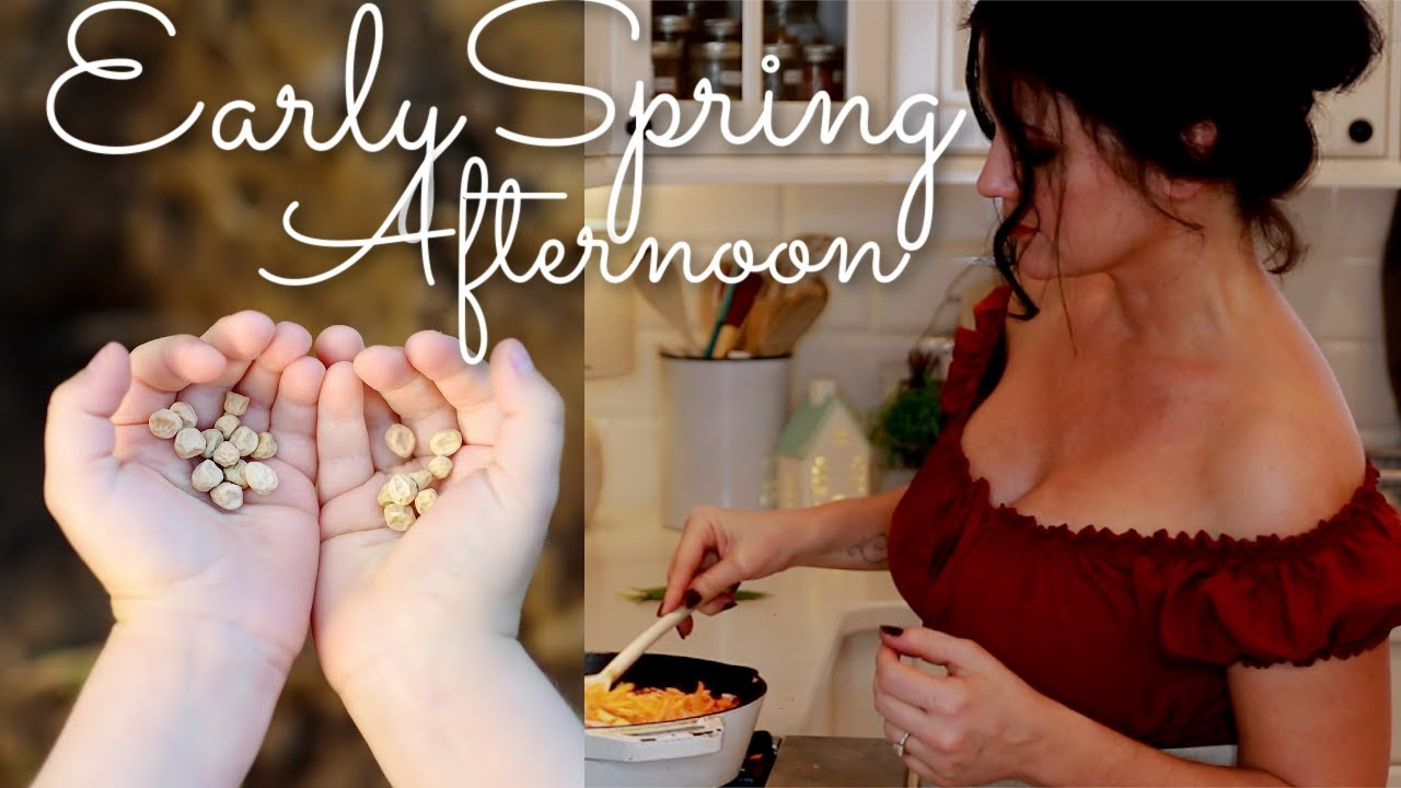 Slow Living Vlog | Early Spring Afternoon at Home