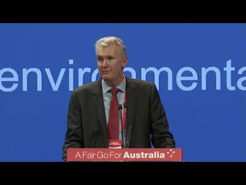 Labor will change environmental laws and establish an environmental protection agency - TONY BURKE