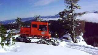 Tucker Sno-Cat - Mt. Ashland Blade Cut (1)