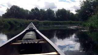 My First Solo Canoe Paddle