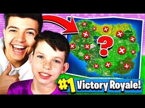 USING MY LITTLE BROTHER To WIN FORTNITE BATTLE ROYALE?!