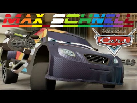 cars 2 max schnell friend from lightning mcqueen