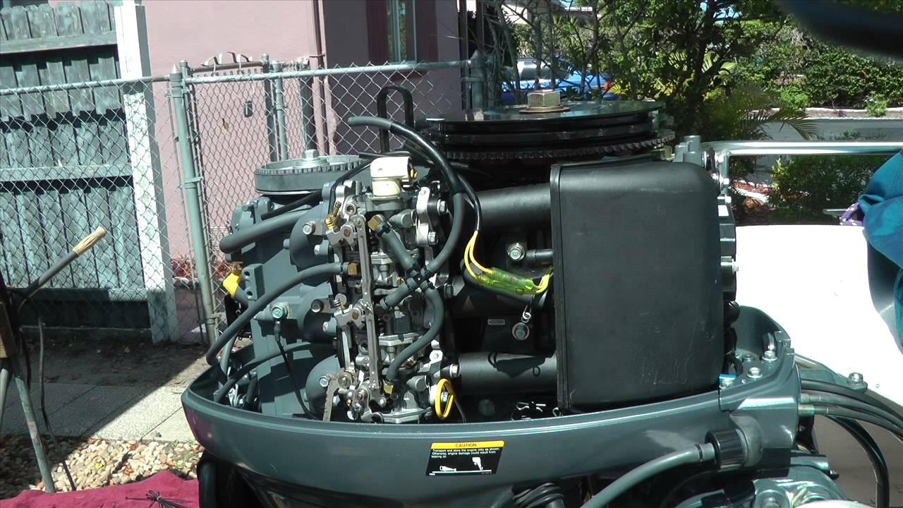 Yamaha 40hp 4 stroke carburetor cleaning (PART 2)  YouTube