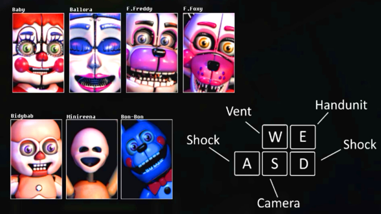 Five Nights At Babys A Sister Location Mod Youtube