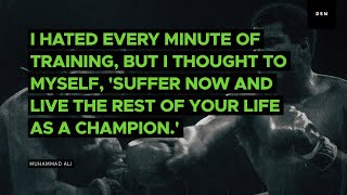 sales motivation quote i hated every minute of training but
