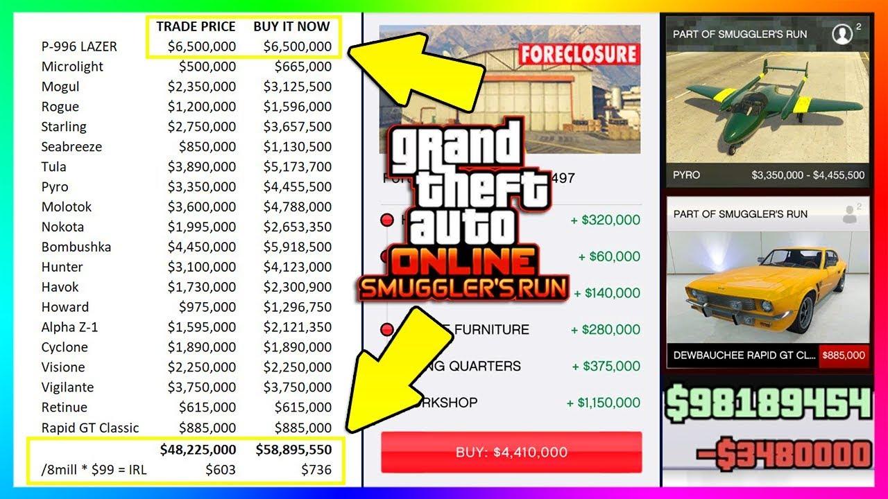 gta 5 how to buy a hanger online