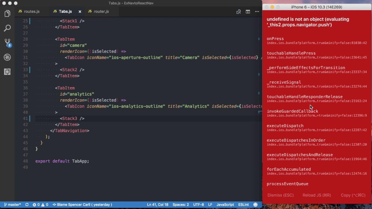 ExNavigation to React Navigation: StackNavigation to StackNavigator - Part 2