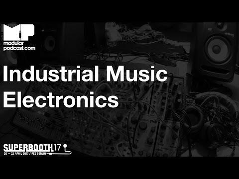 Superbooth 2017 - Industrial Music Electronics Argos Bleak