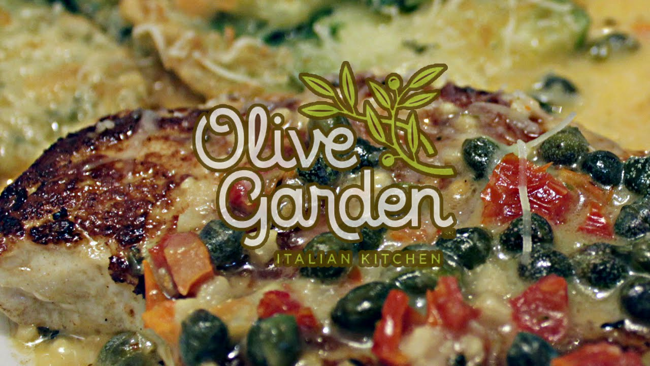 Tasty Thursday Olive Garden Chicken Piccata Youtube