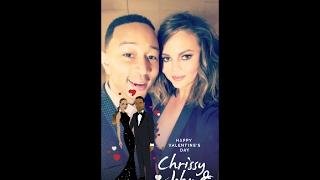 Chrissy Teigen Snapchat Compilation 33