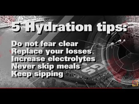 5 hydration tips for athletes