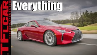 2017 Lexus LC 500: Everything You Ever Wanted to Know