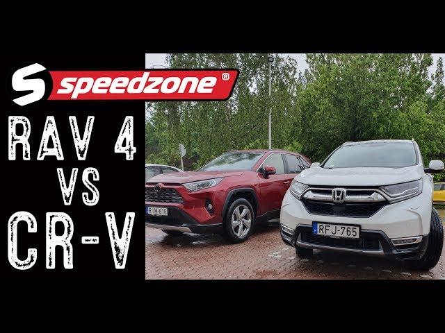 Szinte duplateszt: Honda CR-V Hybrid 2.0 i-MMD AWD / Toyota RAV4 2.0 Valvetronic