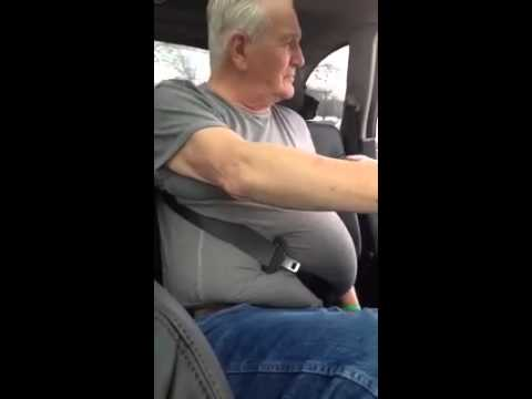 Old Man Trapped In A Seatbelt Youtube