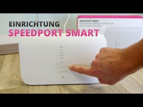 Speedport Smart einrichten: Telekom Router anschließen - so geht's