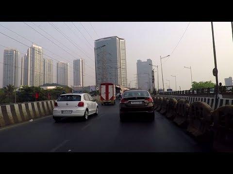 Driving in Mumbai (Kandivali to Goregaon) - Maharashtra, India