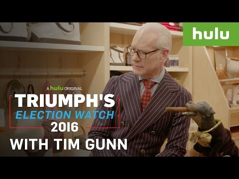 Tim Gunn Gives Triumph Fashion Advice (Web Exclusive) • Triumph's Election Watch 2016