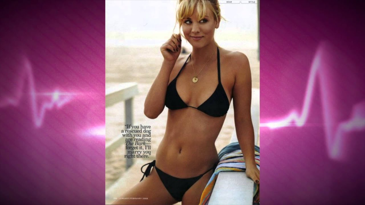 Gossip Girl Wallpapers Hd The Big Bang Theory S Kaley Cuoco In A Bikini Youtube